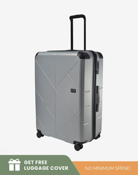 Bagasi Jasper Large - Silver Leaf (Free Luggage Cover)