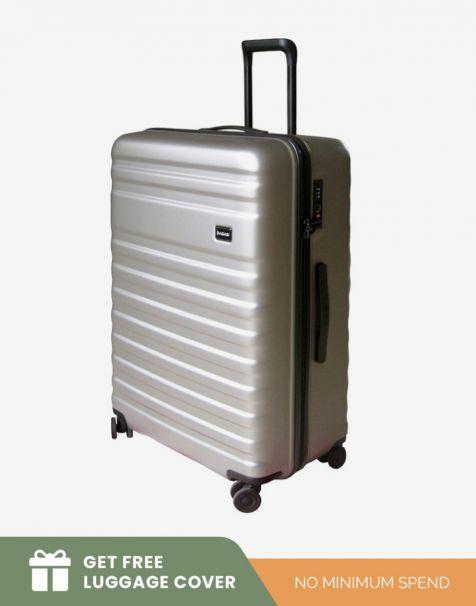 Bagasi Bidara Matte Large - Grey (Free Luggage Cover)