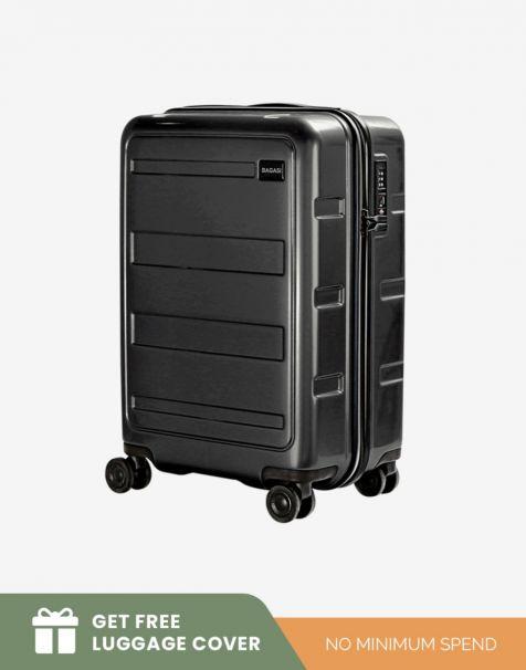 Bagasi Gili Small - Black (Free Luggage Cover)
