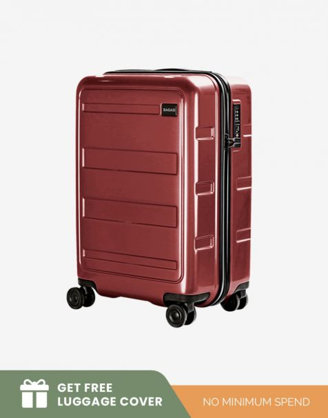 Bagasi Gili Small - Red (Free Luggage Cover)