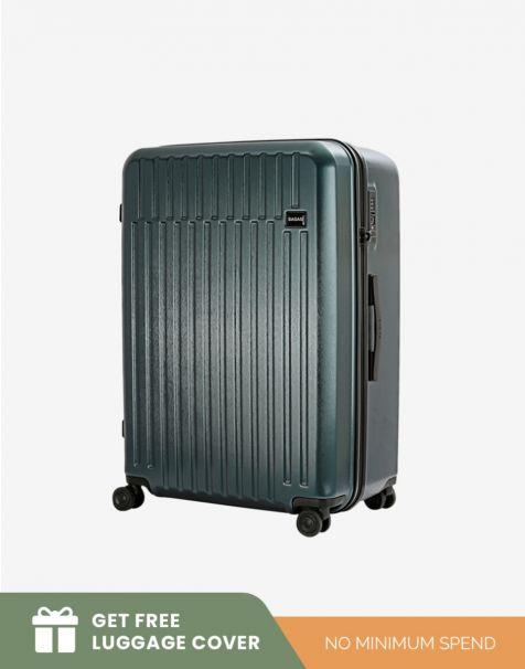 Bagasi Talaga Large - Green (Free Luggage Cover)