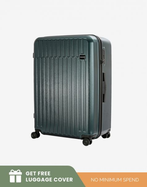Bagasi Talaga Medium - Green (Free Luggage Cover)
