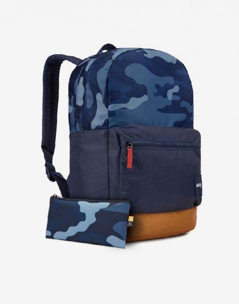 Case Logic Commence Laptop Backpack 24L - Dress Blue Camo Cumin