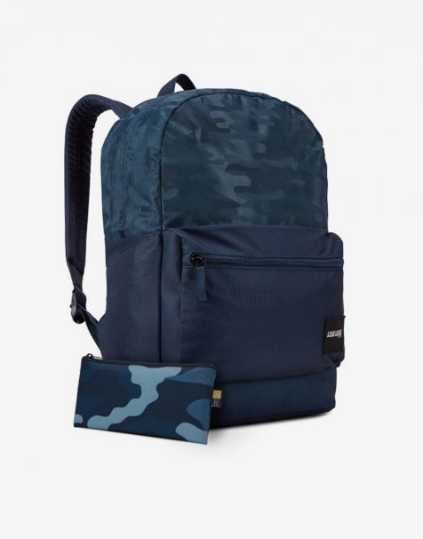 Case Logic Founder Laptop Backpack 26L - Dress Blue Camo