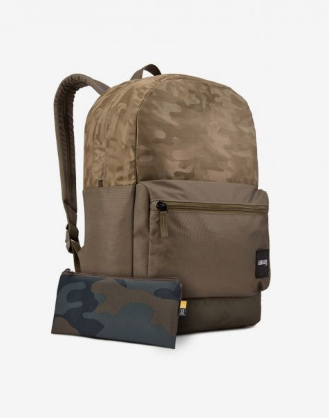 Case Logic Founder Laptop Backpack 26L - Olive Night Camo