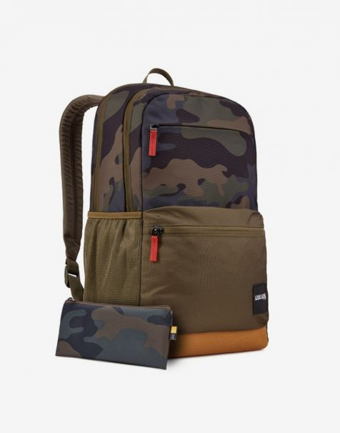 Case Logic Uplink Laptop Backpack 26L - Olive Camo Cumin