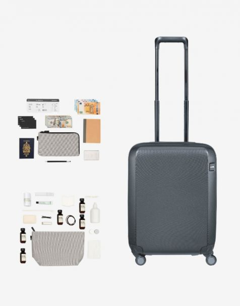 Lojel Rando Zip Expand Small & Lojel Accessories Travel Hampers (Luggage + Wallet + Toiletry)