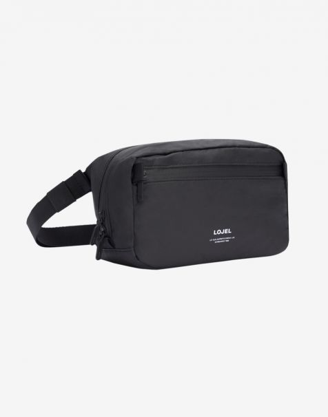 Lojel Slash Shoulder Pack - Matte Black
