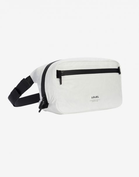 Lojel Slash Shoulder Pack - Matte White