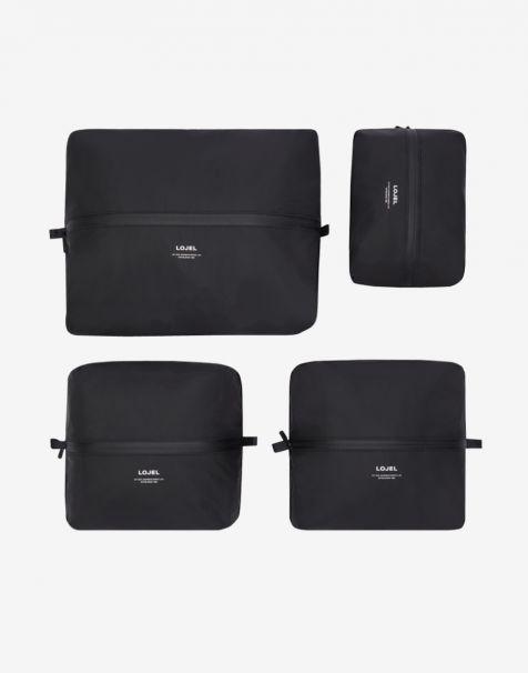 Lojel Slash Packing Kit 4 Organizer - Matte Black