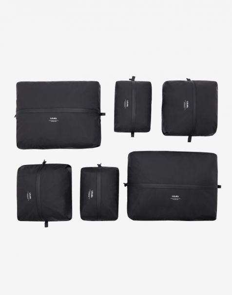 Lojel Slash Packing Kit 6 Organizer - Matte Black