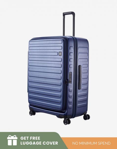 Lojel Cubo 1 Large - Blue (Free Luggage Cover)