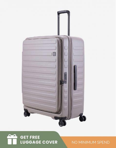 Lojel Cubo 1 Large - Grey (Free Luggage Cover)