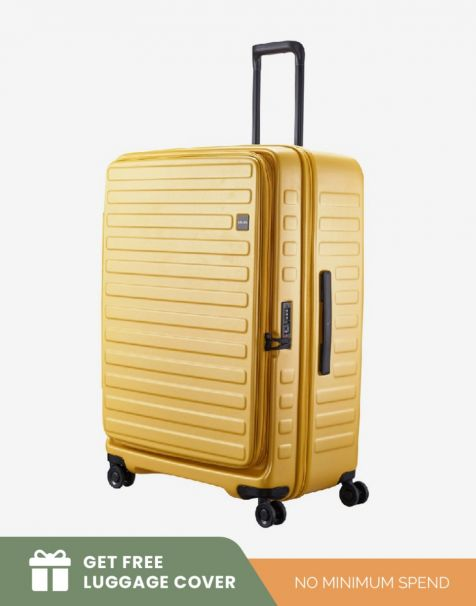 Lojel Cubo 1 Large - Mustard (Free Luggage Cover)