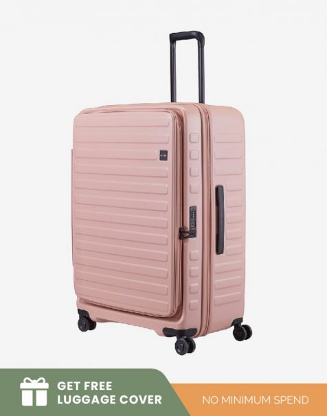 Lojel Cubo 1 Large - Rose (Free Luggage Cover)