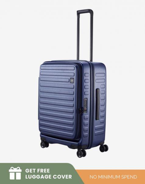 Lojel Cubo 1 Medium - Blue (Free Luggage Cover)
