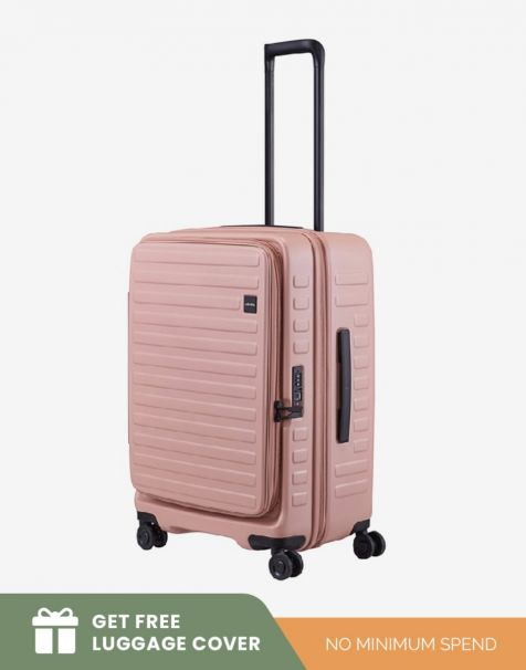 Lojel Cubo 1 Medium - Rose (Free Luggage Cover)