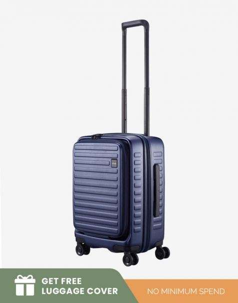 Lojel Cubo 1 Small - Blue (Free Luggage Cover)