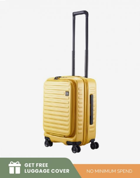 Lojel Cubo 1 Small - Mustard (Free Luggage Cover)