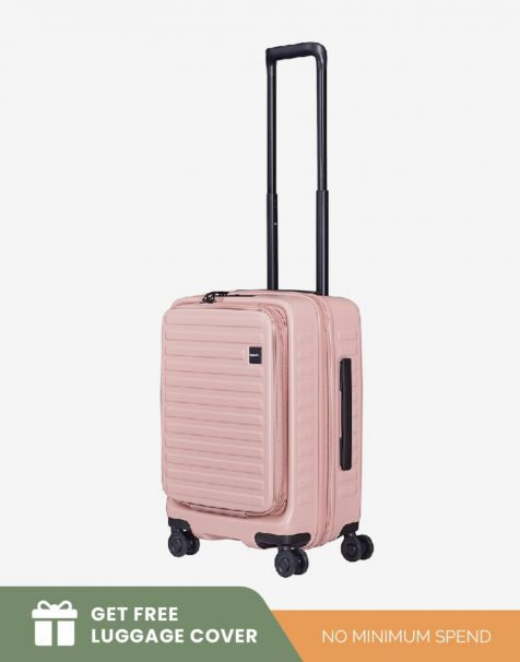 Lojel Cubo 1 Small - Rose (Free Luggage Cover)