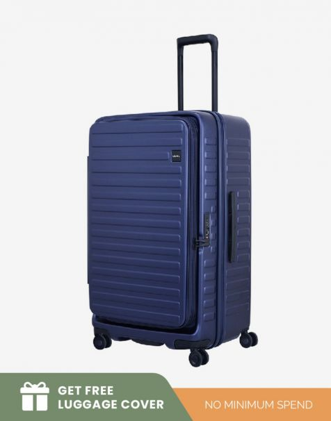 Lojel Cubo 1 Fit Large - Blue (Free Luggage Cover)