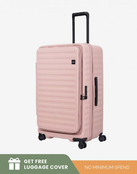 Lojel Cubo 1 Fit Large - Rose (Free Luggage Cover)
