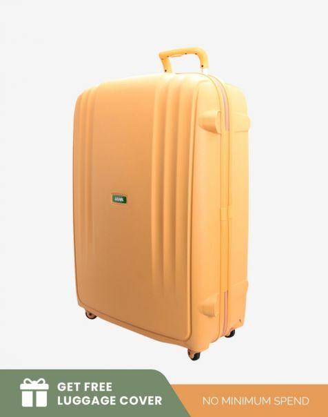 Lojel Lineo Large - Lemon (Free Luggage Cover)