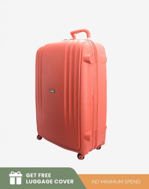 Lojel Lineo Large - Salmon (Free Luggage Cover)