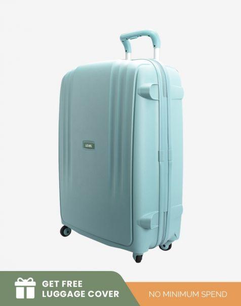 Lojel Lineo Medium - Liquid Blue (Free Luggage Cover)