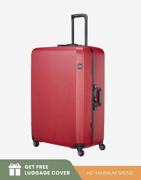 Lojel Rando Frame 2 Large - Red (Free Luggage Cover)