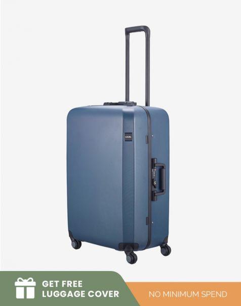 Lojel Rando Frame 2 Medium - Blue (Free Luggage Cover)
