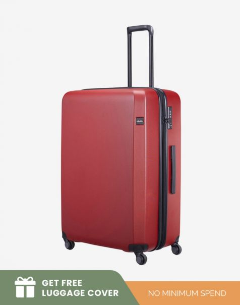 Lojel Rando Zip Expand 2 Large - Red (Free Luggage Cover)