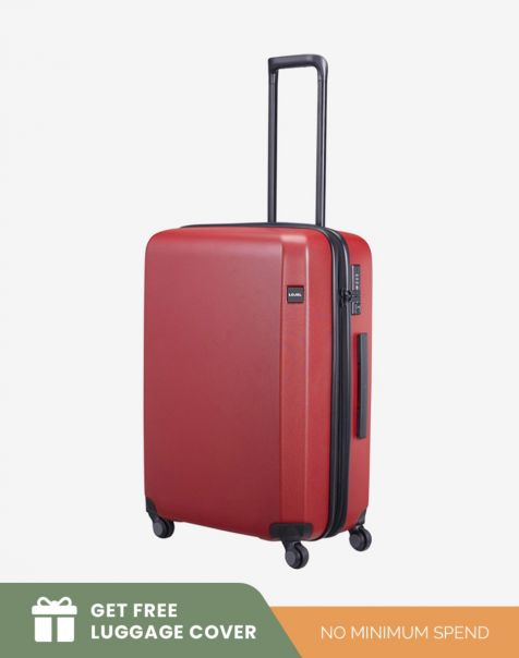 Lojel Rando Zip Expand 2 Medium - Red (Free Luggage Cover)