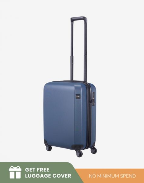 Lojel Rando Zip Expand 2 Small - Blue (Free Luggage Cover)