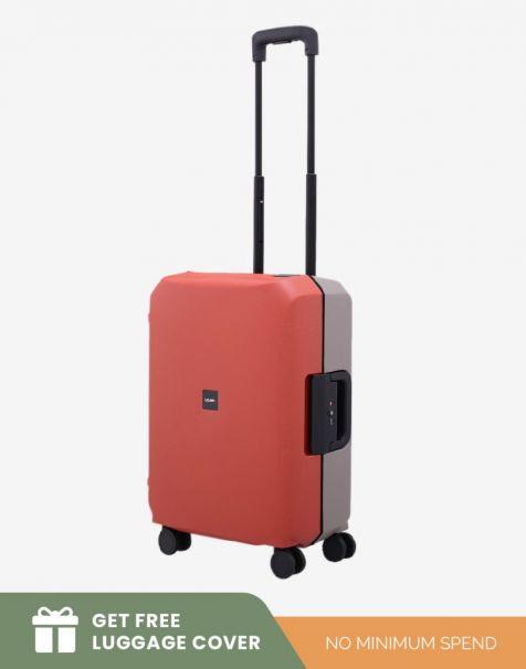 Lojel Voja Duo Small - Red Grey (Free Luggage Cover)