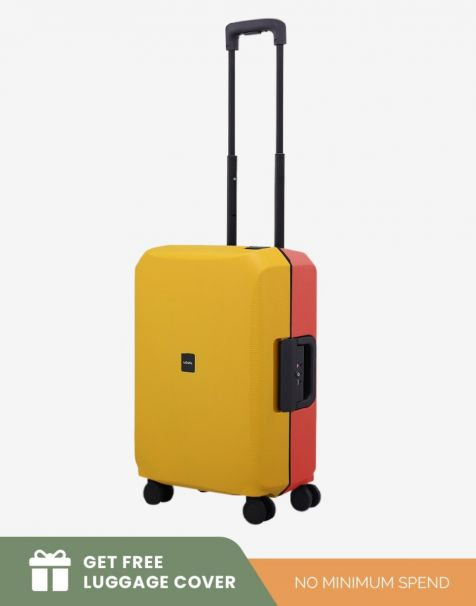 Lojel Voja Duo Small - Yellow Red (Free Luggage Cover)