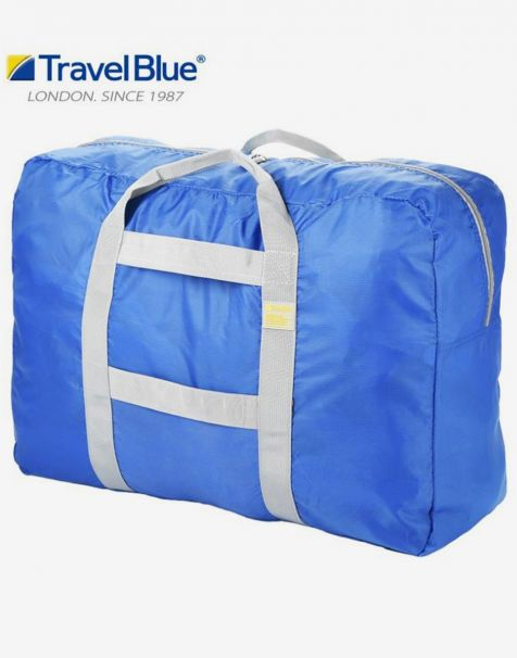 Travel Blue Folding Carry Bag - Blue