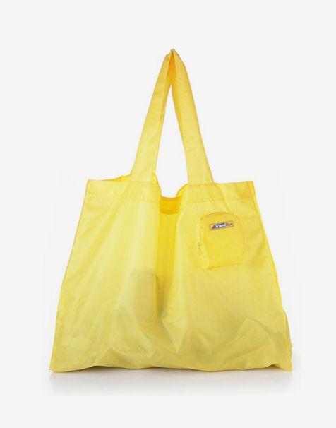 Travel Blue Folding Bag - Gold