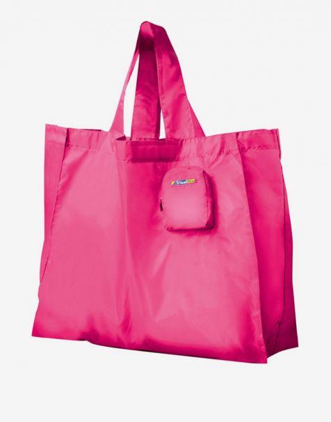 Travel Blue Folding Bag - Magenta