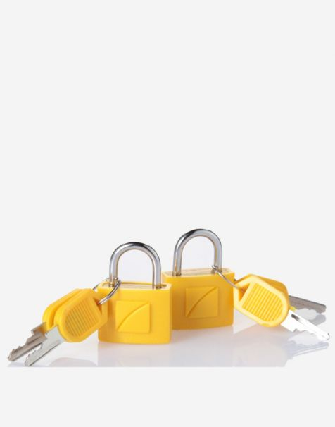 Travel Blue Gembok Koper Padlock (2pcs) - Yellow