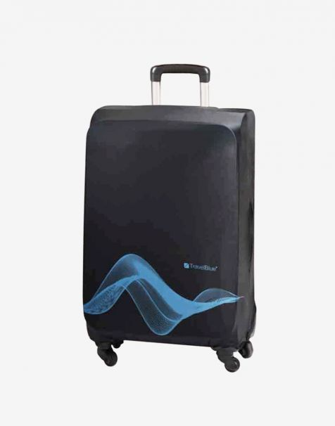 Travel Blue Luggage Cover Medium/26 Inch - Black