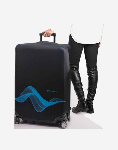 Travel Blue Luggage Cover Large/30 Inch - Black