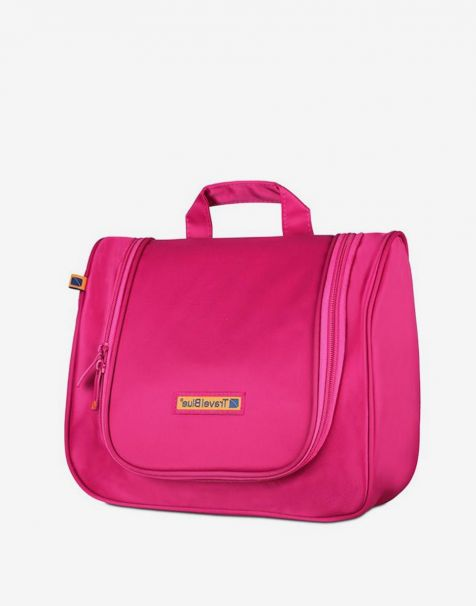 Travel Blue Wash Bags - Pink